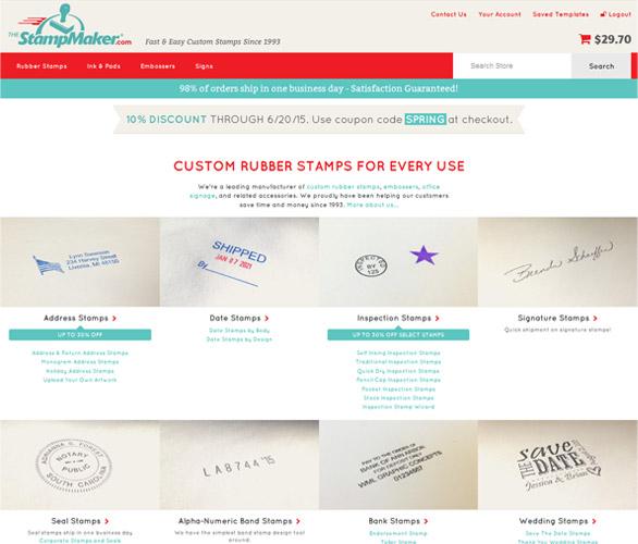 The Stamp Maker Slide 1